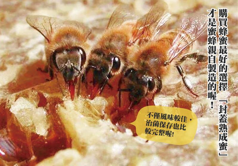 購買蜂蜜最好的選擇:封蓋熟成蜜